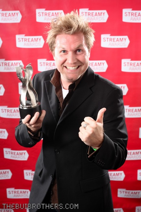 Alex Albrecht photo at the Streamy Awards