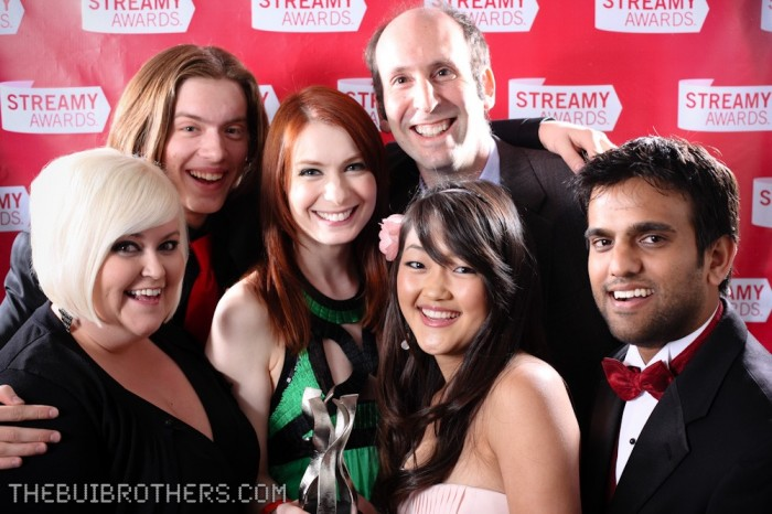 The Guild Cast photo at the Streamy Awards